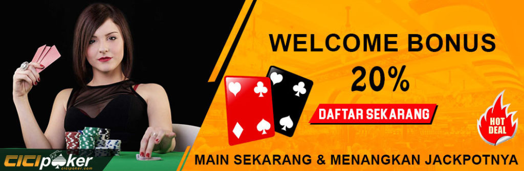 bonus welcome poker online